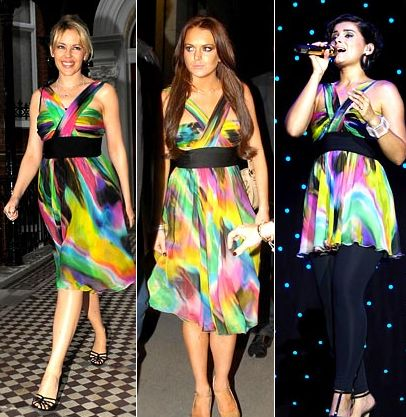 Kylie Minoque-Lindsay Lohan-Nelly Furtado
